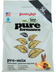 GRANDMA LUCY'S PUREFORMANCE  PRE-MIX W/CHICKPEAS FREEZE DRIED GRAIN FREE DOG FOOD 8LB