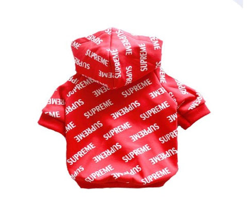 Supreme All Over Xl Hoodie