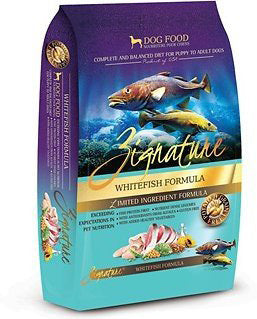 Zignature Grain-Free Whitefish Limited Ingredient Formula Dry Dog Food