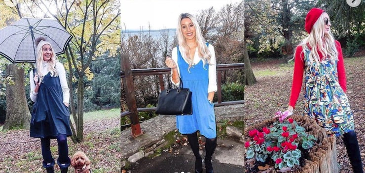 dressing for autumn or winter with layering