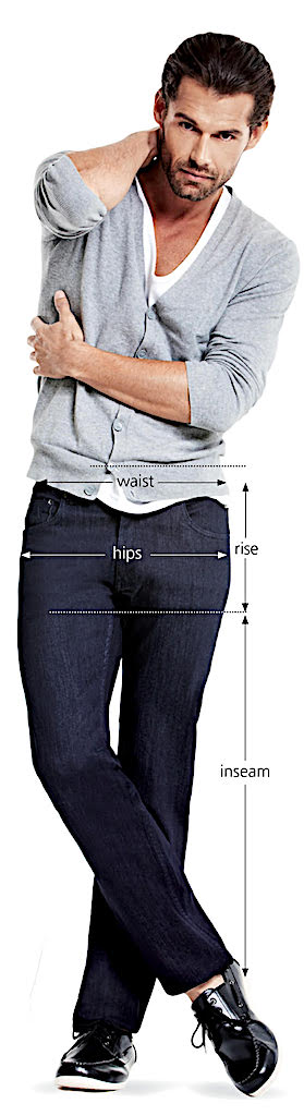 how to measure yourself for comfortable jeans