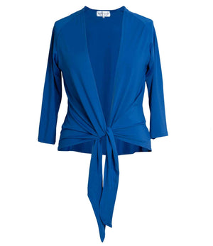Eva Cobalt Blue Anytime Anywear Shrug - versatile and interchangeable