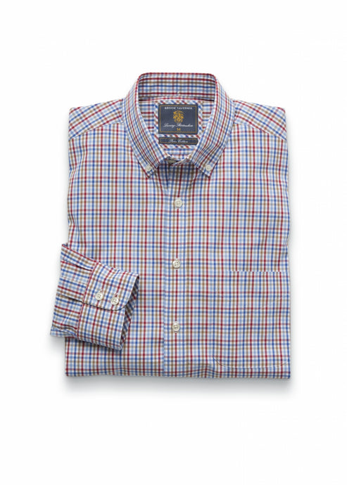 Brook Taverner Lancing Casual Check Shirt