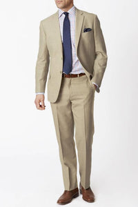Brook Taverner Esher Linen Trousers