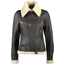 Load image into Gallery viewer, Sheepskin Flying Jacket by Sally Allen