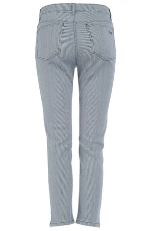 cropped womens jeans st tropez style back