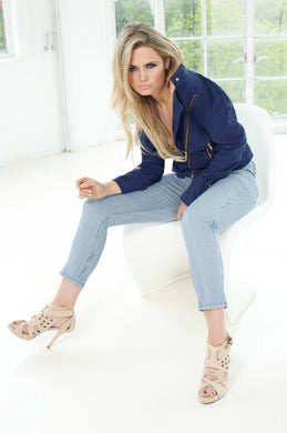 cropped womens jeans st tropez style