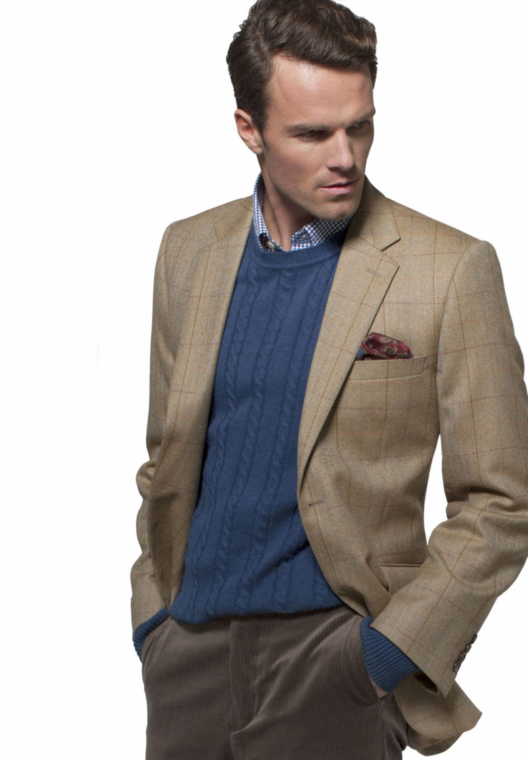 Brook Taverner Osprey Check Jacket