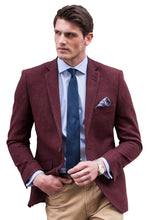 Load image into Gallery viewer, Brook Taverner Welford Burgundy Jacket