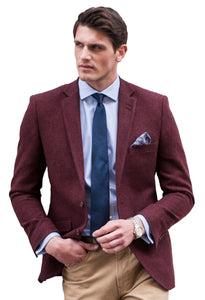 Brook Taverner Welford Burgundy Jacket