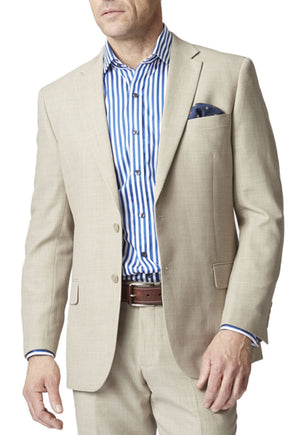 mens machine washable linen jacket