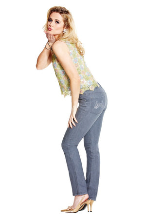 womens grey jeans