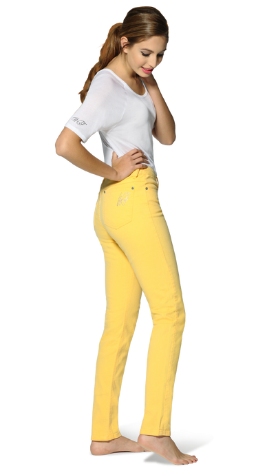 Lemon Fizz Elite Wizard Jeans - yellow skinny jeans