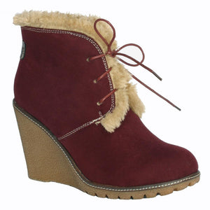 Pixie boot Emily in berry reed