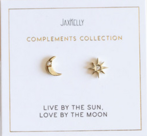 Sun and Moon Compliment Earrings