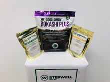 Load image into Gallery viewer, Stepwell Soil Bokashi Grow Kit