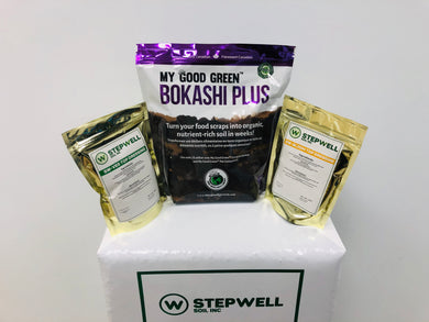 Stepwell Bokashi Grow Kit