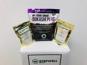 Stepwell Soil Bokashi Grow Kit