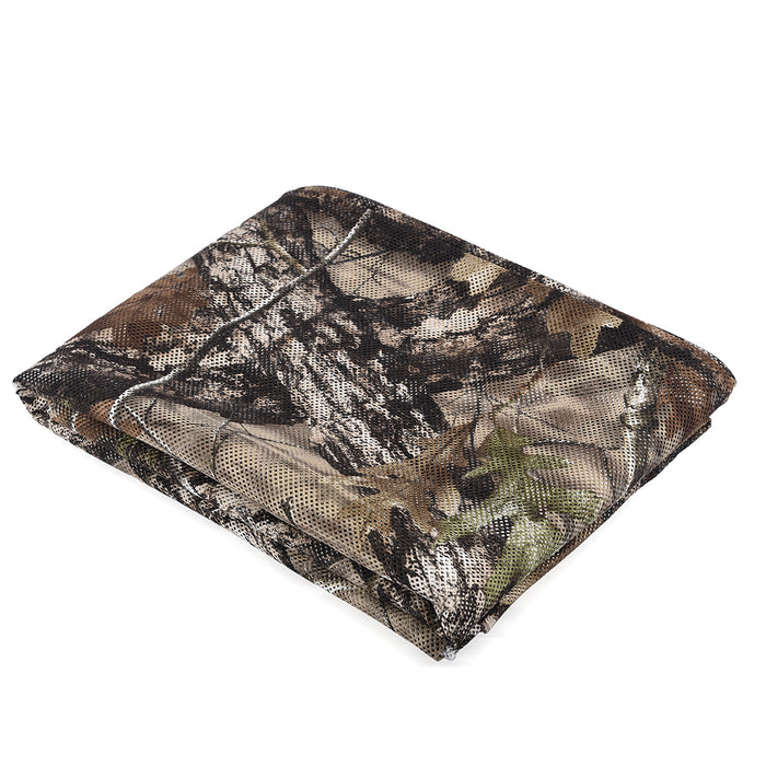 LOOGU Durable 300D Polyester Mesh Super Tree Camo Netting Hunting Blinds - loogucamoshop