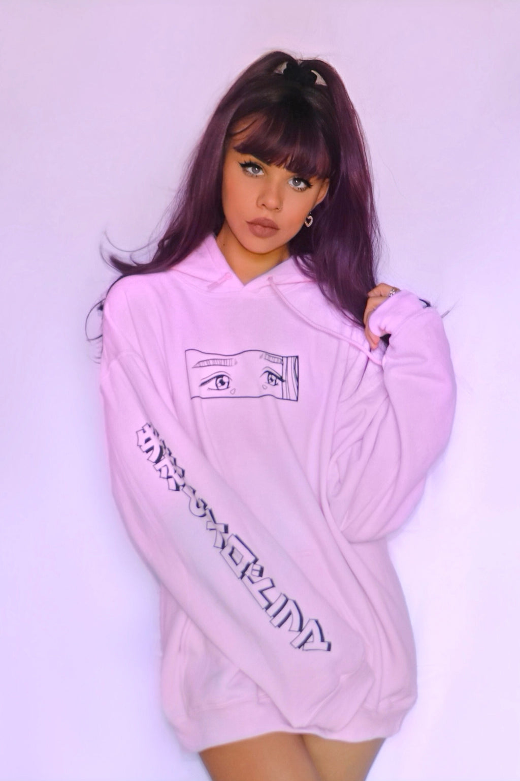 Snitchery: Pink Letting Go Hoodie