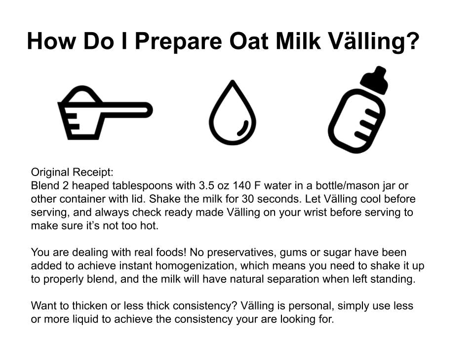how to prepare välling