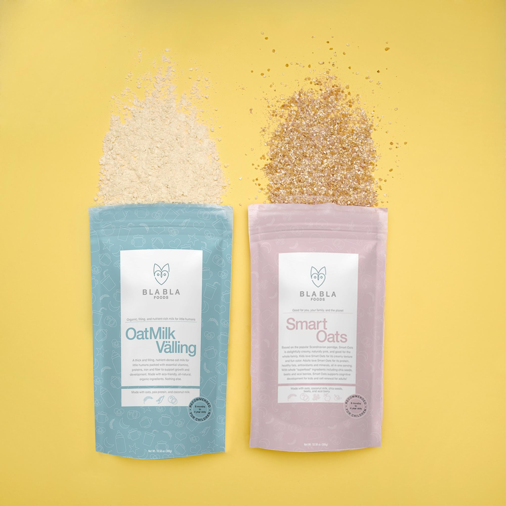 Quinoa Hot Cereal Acai+Coconut supportive of cognitive development and cell renewal