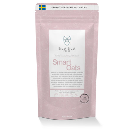 Smart Oats: instant oats supportive of cognitive development and cell renewal
