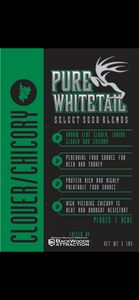 Pure Whitetail Clover/Chickory