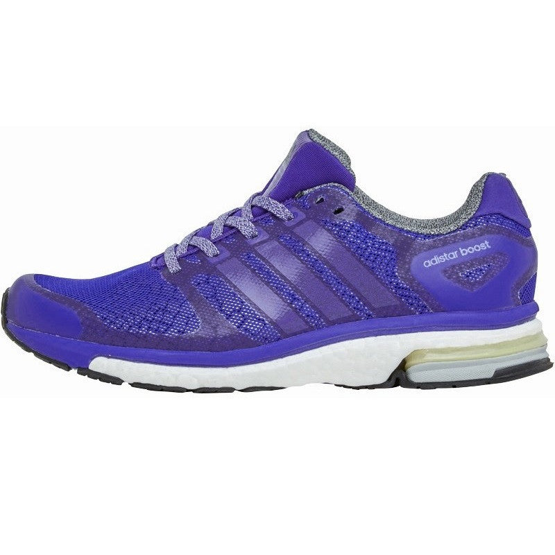 Adidas Womens Adistar Boost Glow Ladies Running Trainers Purple B40894 NEW