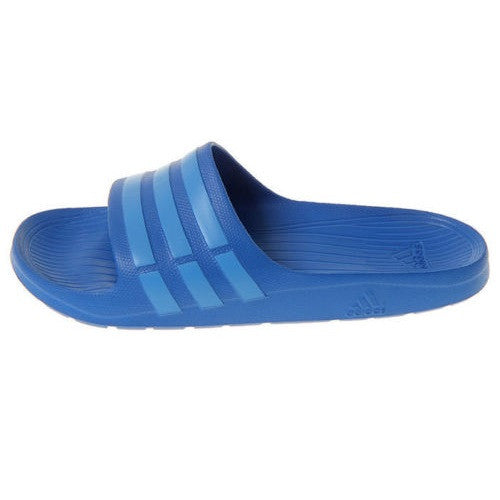 882abe69274eb4 Buy adidas duramo slide blue   OFF49% Discounted