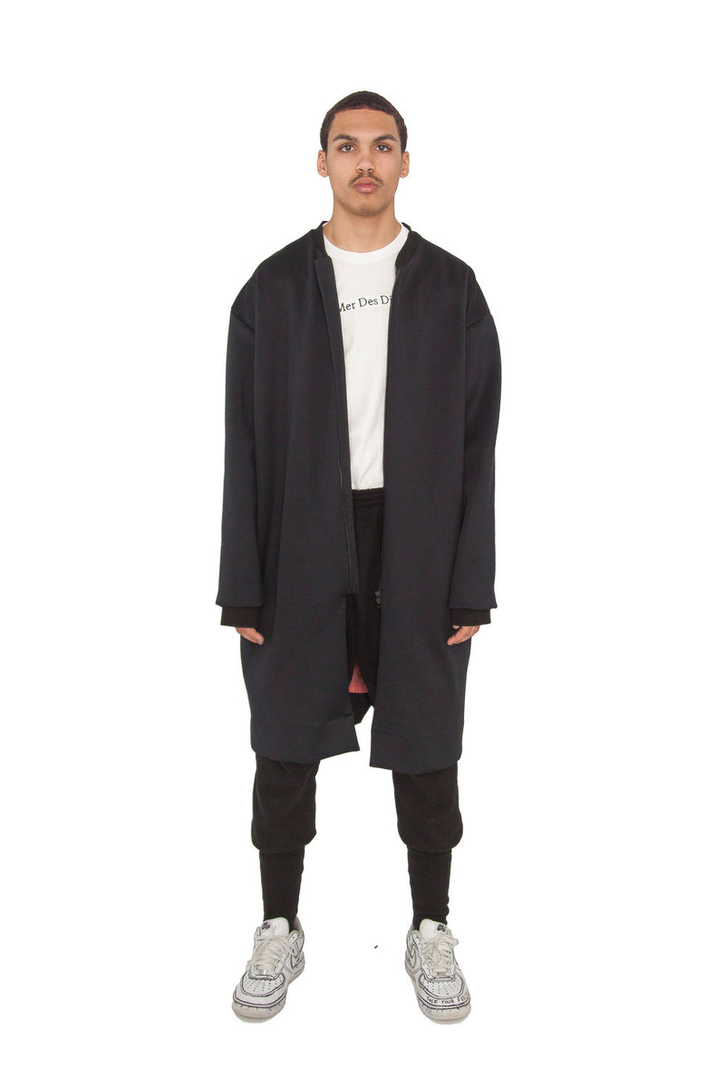 Elongated Scuba Jacket (Pre order)