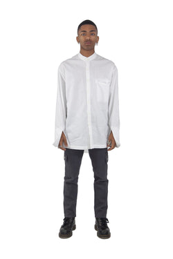 Elongated Mandarin Shirt (Pre order)