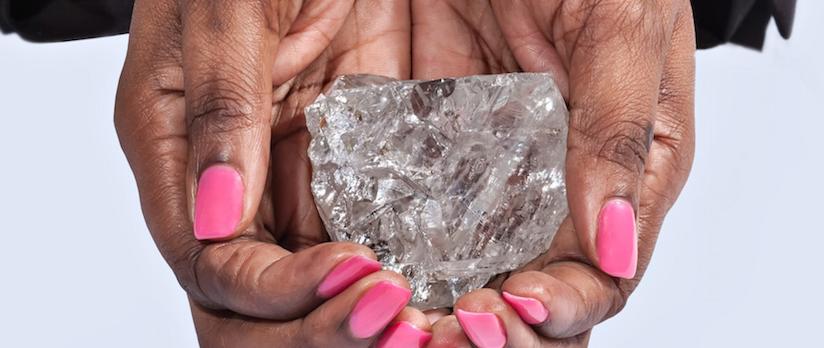 A Rare Sparkle In Botswana's Diamond Industry