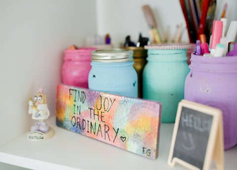 Reusing Candle Containers