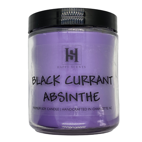 black currant absinthe candle
