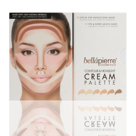 Contour & Highlight Cream Palette - Bellapierrechile