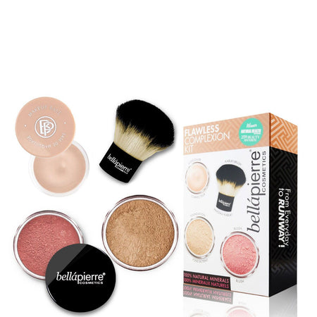 Flawless Complexion kit - Dark kit - Bellapierrechile