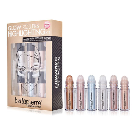 ILUMINADORES, GLOW ROLLERS HIGHLIGHTING KIT - Bellapierrechile
