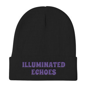 ILLUMINATED ECHOES Knit Beanie
