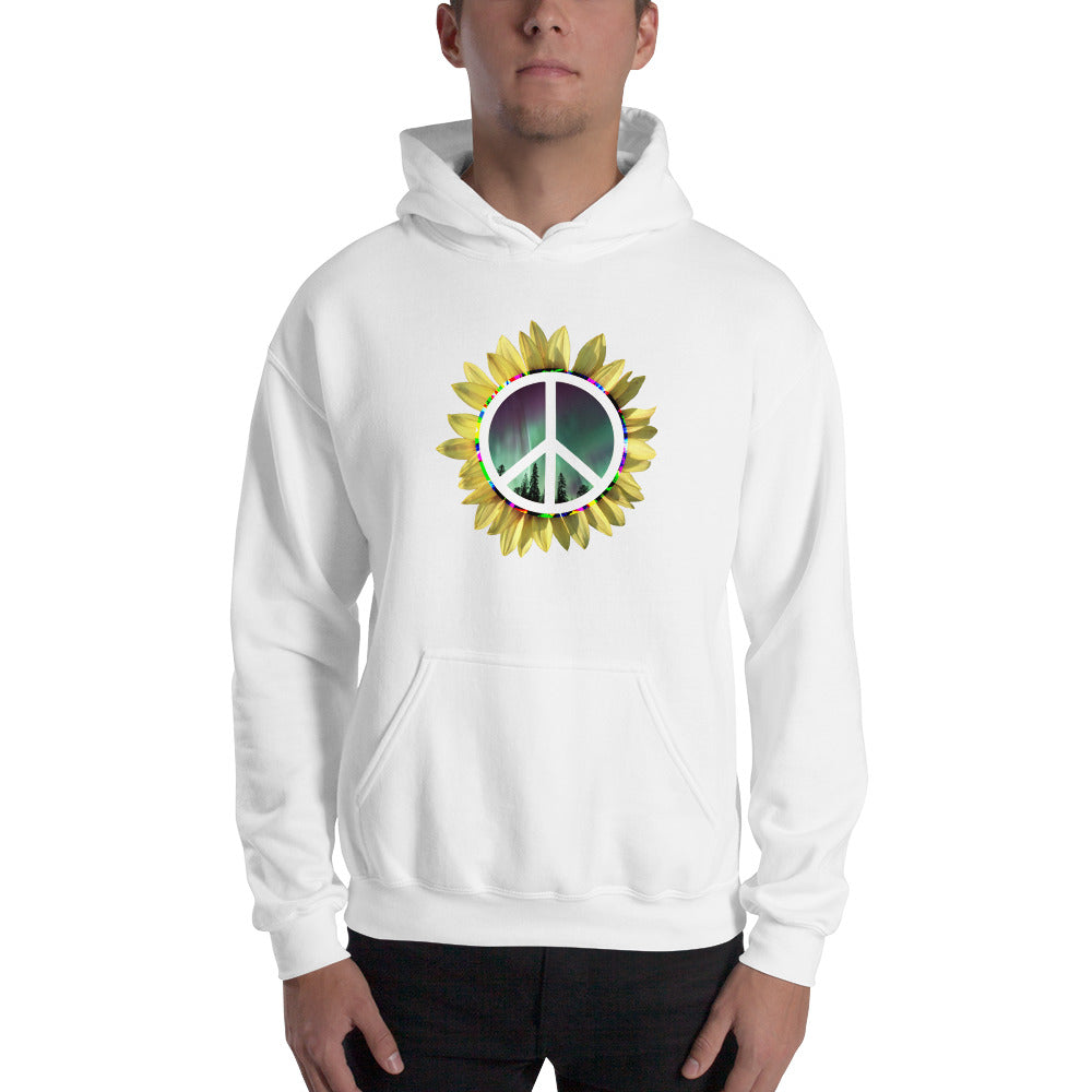 (front) PEACE , NORTHERN LIGHTS, SUNFLOWER (back) ILLUMINATED ECHOES logo