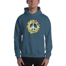 Load image into Gallery viewer, (front) PEACE , NORTHERN LIGHTS, SUNFLOWER (back) ILLUMINATED ECHOES logo
