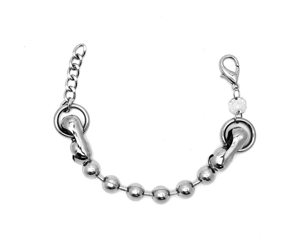 Oversized Ball Chain Bracelet