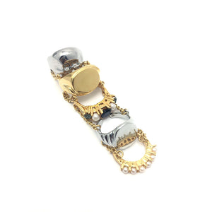 5-In-1 Chained Ring