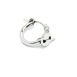 Mini Haturn Hoop Single Earring