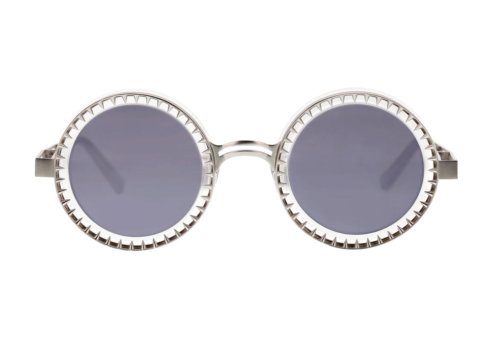 The Fang Sunglasses -  Silver