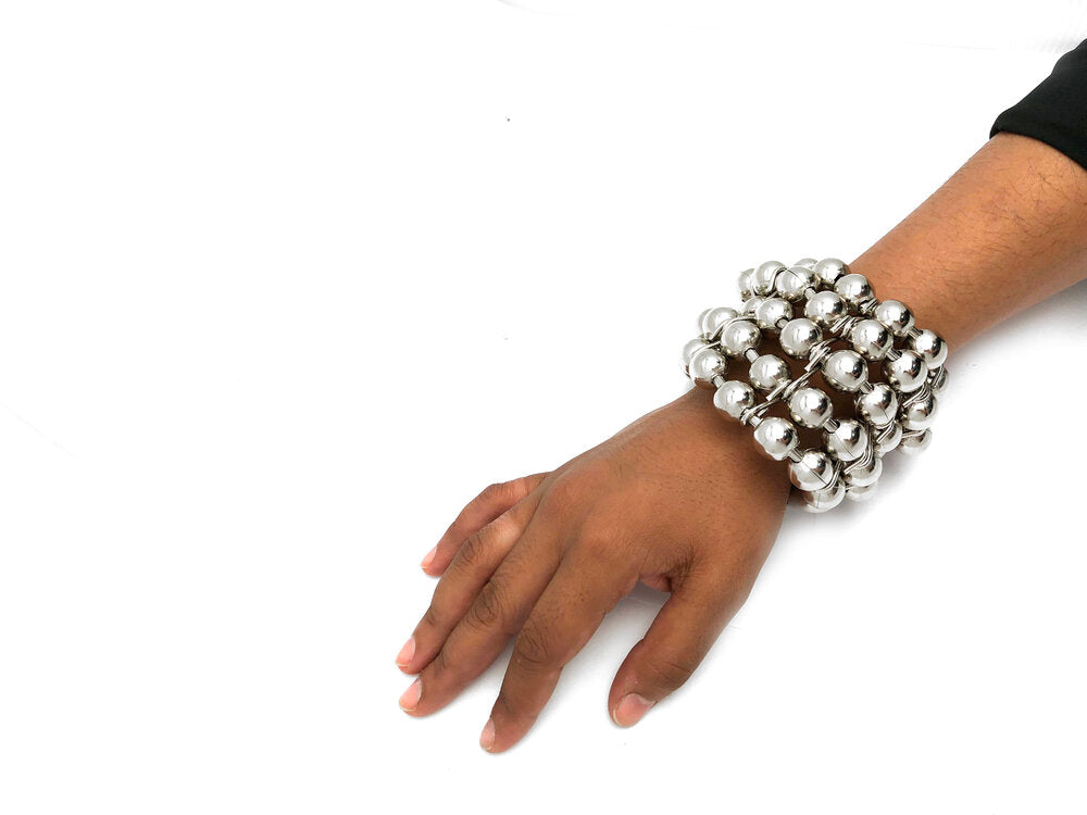 Oversized Ball Chain Multi Bracelet