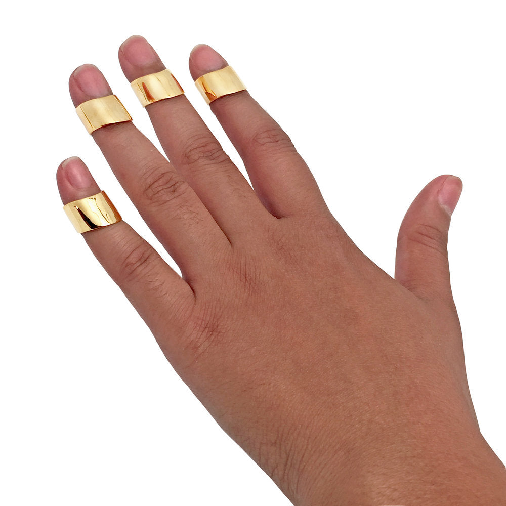 The Bullet Proof Fingertip/Midi Ring (single)