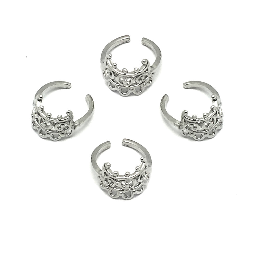 The Ritual Fingertip/Midi Ring (set of four)