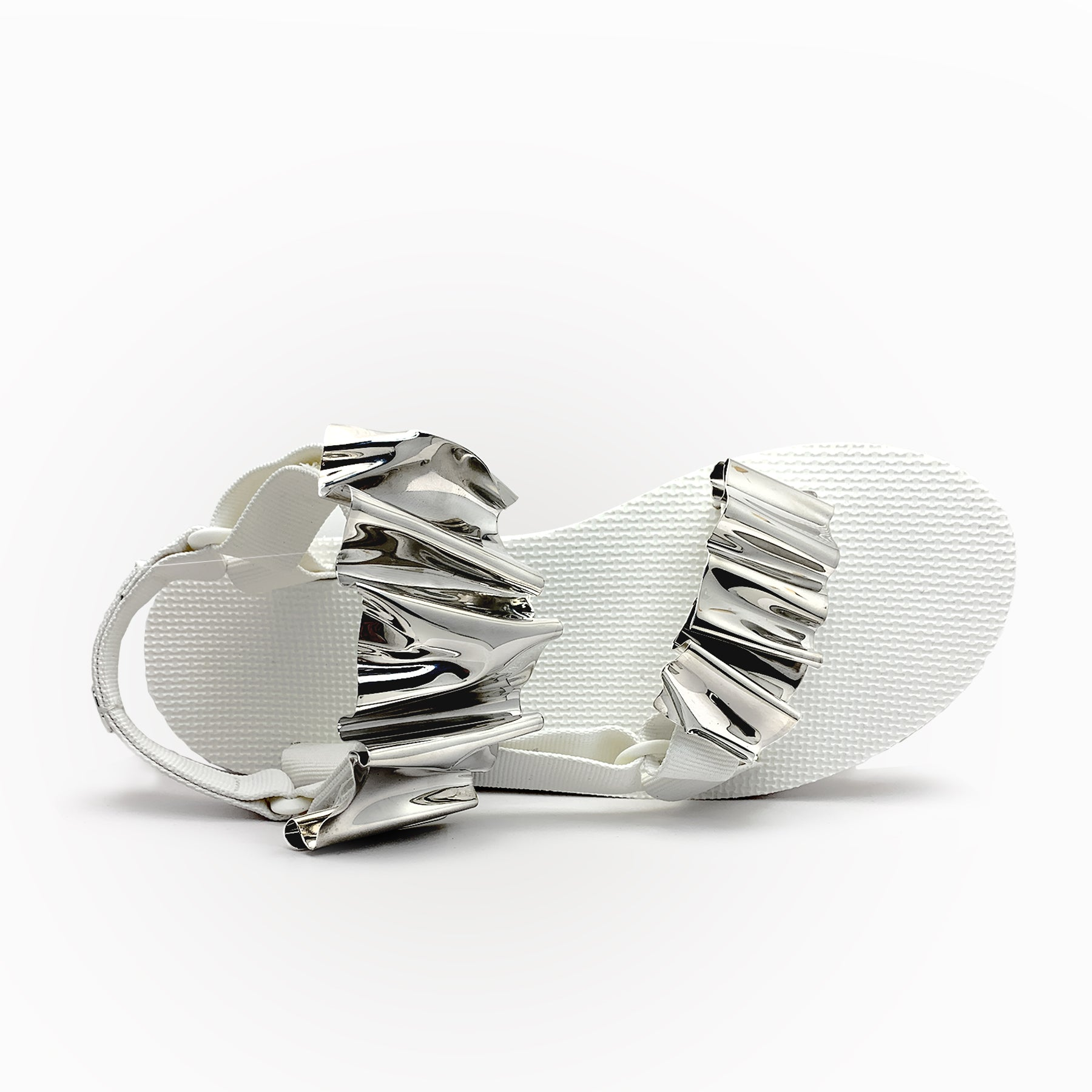 CHRISHABANA x TEVA Customized Flatform Universal Sandals in White