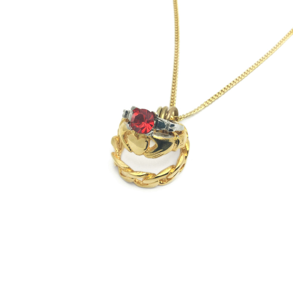 Le Coeur Saignant 3 In 1 Ring Necklace